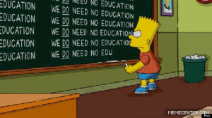 24 Bart Chalkboards For The 24th Anniversary Of 'The Simpsons'