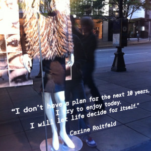 Inspiring window shopping quotes...