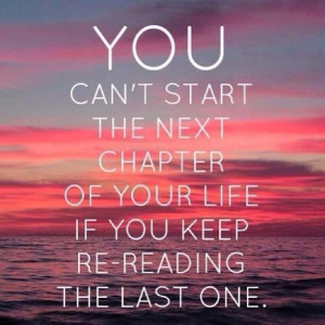 Leave the past behind you