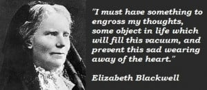 Elizabeth blackwell famous quotes 2