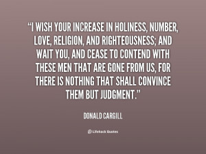 Quotes by Donald Cargill
