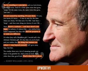 Haunting But Hopeful Quote From A 2006 Interview With Robin Williams