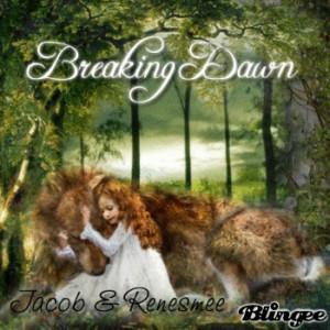 Breaking Dawn: Jacob and Renesmee