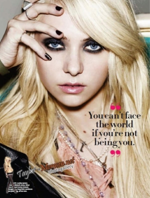 ever agree here she s being in seventeen magazine for februari 2010 ...