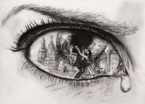 cry, draw, eye, love, sad