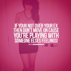 Not Over Your Ex Advice Picture