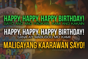 Best Tagalog Birthday Quotes and Greetings for Friends