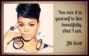 Jill Scott Love Quotes