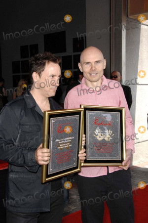 Jimmy Chamberlin Picture Jimmy Chamberlin and Billy Corgan During