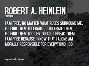 Break the Rules Quotes – Robert A. Heinlein