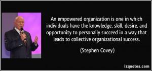 organizational quotes
