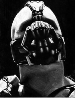 BANE - The Dark Knight Rises Tom Hardy by egrka