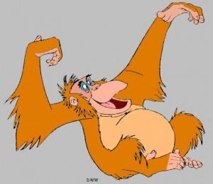 King Louie Jungle Book