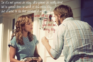 as one of the most famous quotes from the notebook the utter sincerity ...