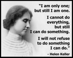 Tribute To Helen Keller