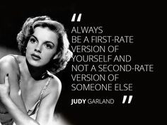 Judy Garland #quote