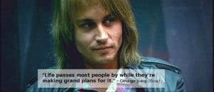 quote about the software a biography being written by George Jung a