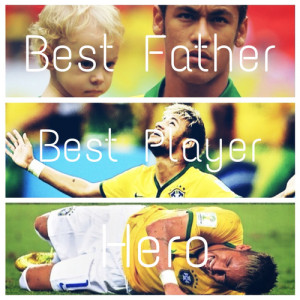... tags for this image include: neymar, hero, neymar jr, father and love