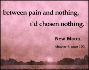Books to Read bella new moon quote