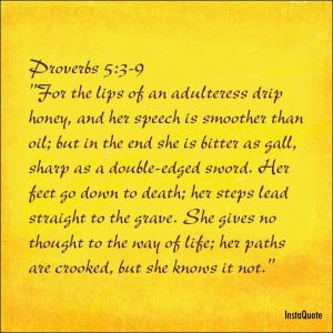 Adultery #infidelity Cheater bible verse