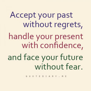 past, present, future quote
