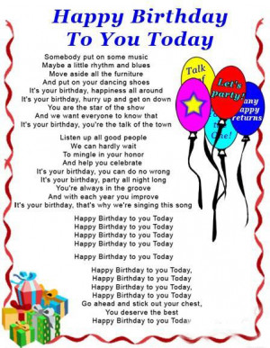 Friend Birthday Verses Poems Quotes.