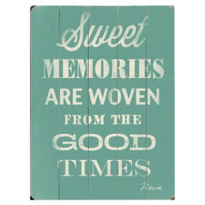 Sweet Memories Wall Decor