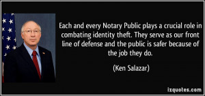 More Ken Salazar Quotes