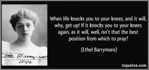 More Ethel Barrymore Quotes