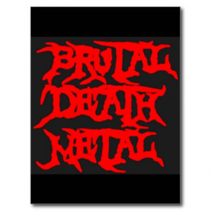 Death Metal Shirts From Zazzle