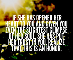 take her for granted quotes