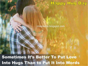 Happy Hug Day sms text message wishes quotes, Hug day HD gif anjmted ...