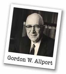Gordon W. Allport – Quoted