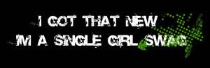 single girl swag Image