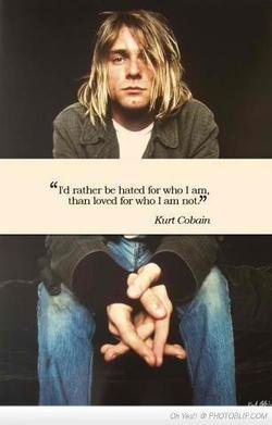kurt #kurt cobain #nirvana #kurt cobain quotes #philosophy #indie # ...