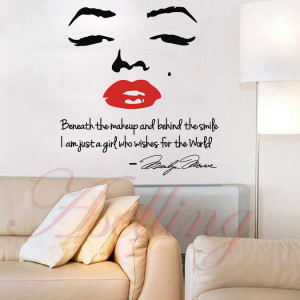 Marilyn Monroe Face Wall Promotion-Shop for Promotional Marilyn Monroe ...