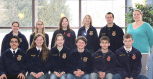 van buren tech center ffa afternoon students are shown front row from ...