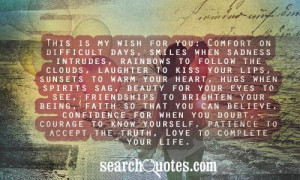 This Is My Wish For You Quotes