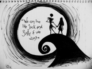 jack # sally # nightmare # before # christmas # love # quote # live ...