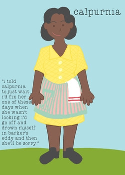 To Kill A Mockingbird Character Drawings | SIGMAPRESS