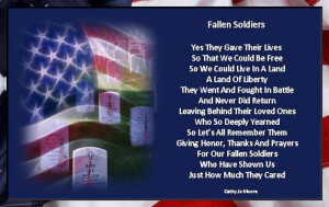 ... You Can Begin With These Unique Memorial Day Poems For Soldiers Now