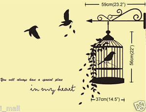 ... -CAGE-Wall-Decal-quote-Youll-always-have-a-special-place-in-my-heart