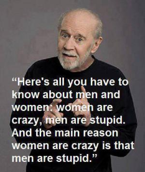 men stupid woman crazy