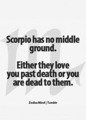 Scorpio Zodiac Sign Quotes