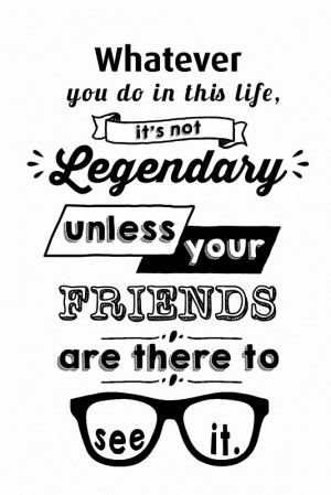 ... › Portfolio › Legendary - Barney Stinson Quote (Black