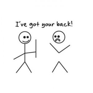 ve got your back