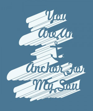 You Are An Anchor For My Soul