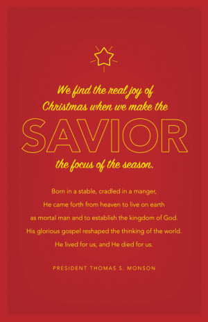 Watch a video with the entire Christmas message here .