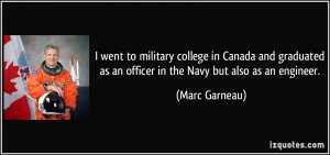 More Marc Garneau Quotes