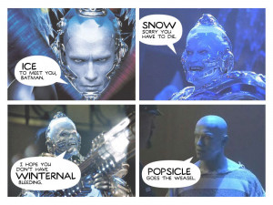 Arnold Schwarzenegger as Mr Freeze